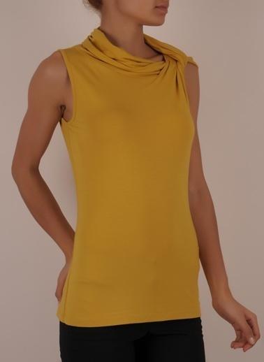 Cotton Bar Bluz Sarı